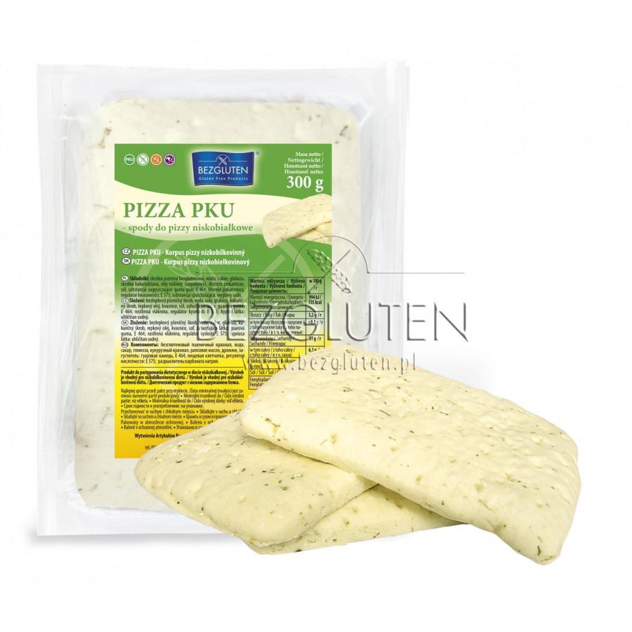 Pizza - spody do pizzy niskobiałkowe PKU