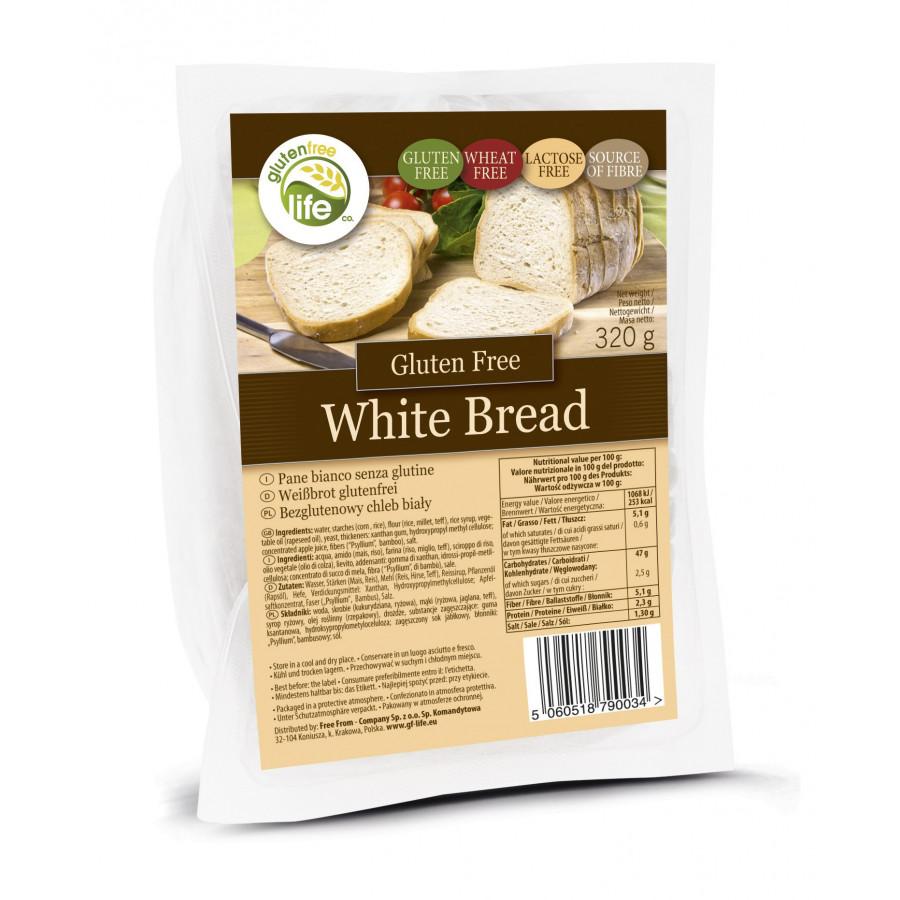 WHITE BREAD BEZGLUTENOWY CHLEB BIAŁY