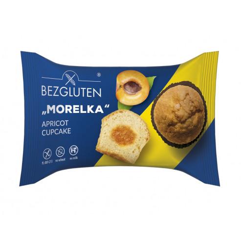 """""""Morelka""""-Napfkuchen aus Biskuitteig mit Aprikosenfüllung"""
