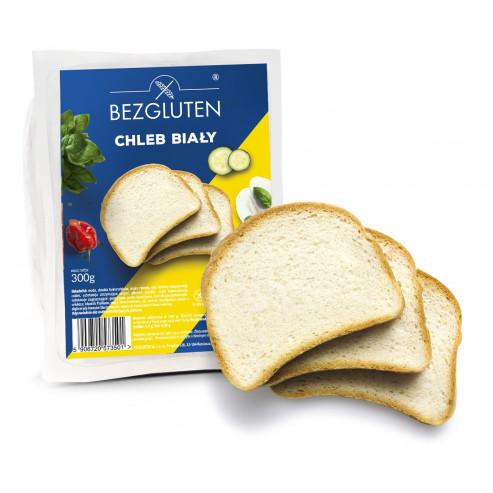Scheiben Weißbrot. Glutenfrei