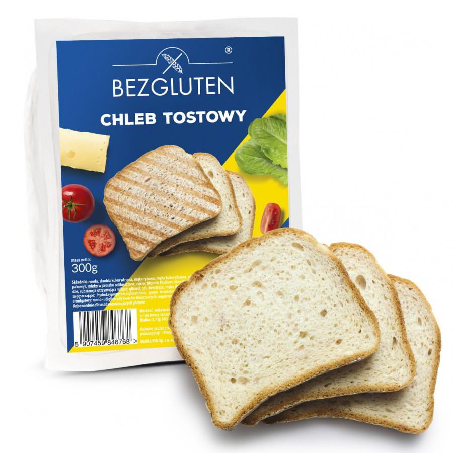 Chleb tostowy bezglutenowy