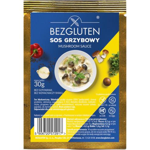 Glutenfreie Pilzsauce