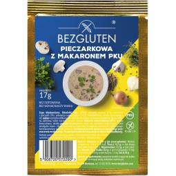 Eiweißarme Pilzsuppe mit Nudeln PKU