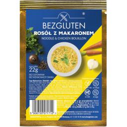 Gluten freie Nudelsuppe /ohne Weizenstärke/