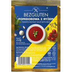 Glutenfreie Tomatensuppe mit Reis /ohne Weizenstärke/