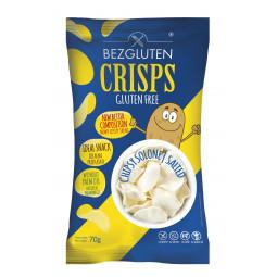 Glutefreie Salz Chips