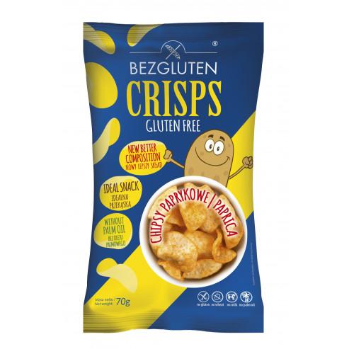 Glutenfreie Chips mit Paprika Geschmack
