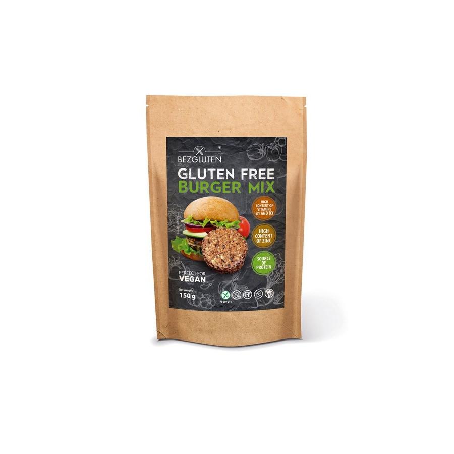 Glutenfreier VEGAN BURGER MIX