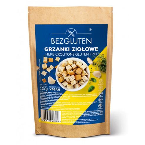 Brotchips mit glutenfreien Kräutern