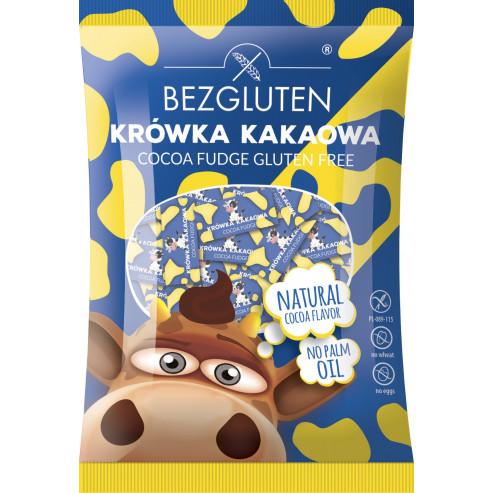 Kakao-Sahnebonbons. Glutenfrei