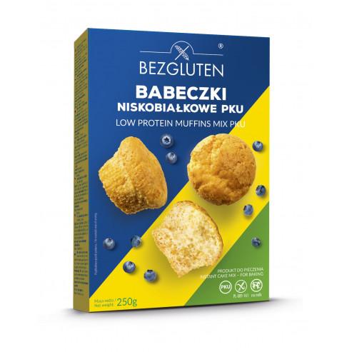 Muffinsy niskobiałkowe PKU /ciasto w proszku/