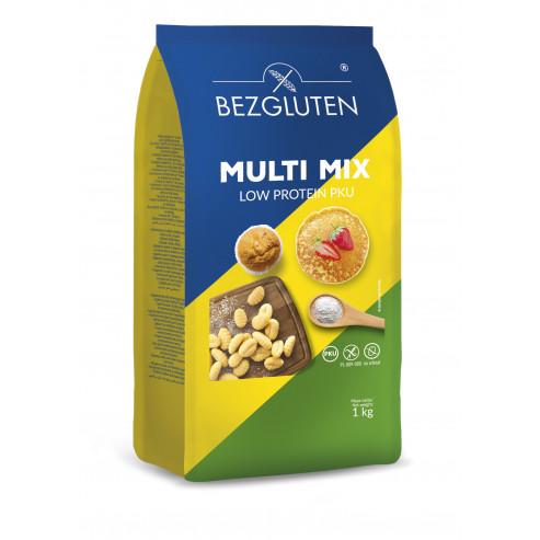 MULTI MIX - MEHLMISCHUNG, EIWEIßARM PKU FÜR ALLGEMEINE VERWENDUNG 1 kg